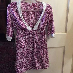 Merona v neck dress 👗